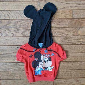 Vintage Disney Babies Mickey Mouse Hoodie Ears